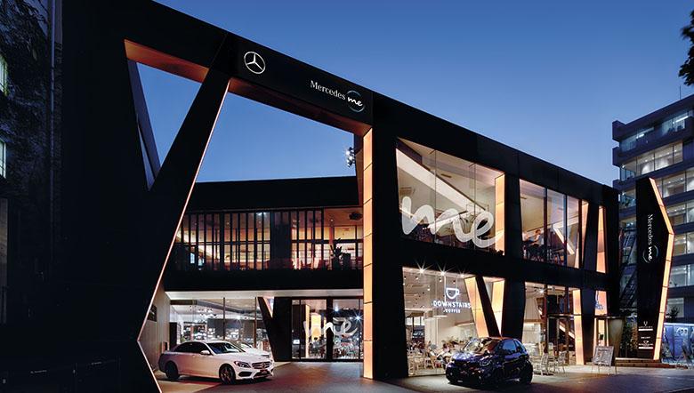 Mercedes me Tokyo UPSTAIRS