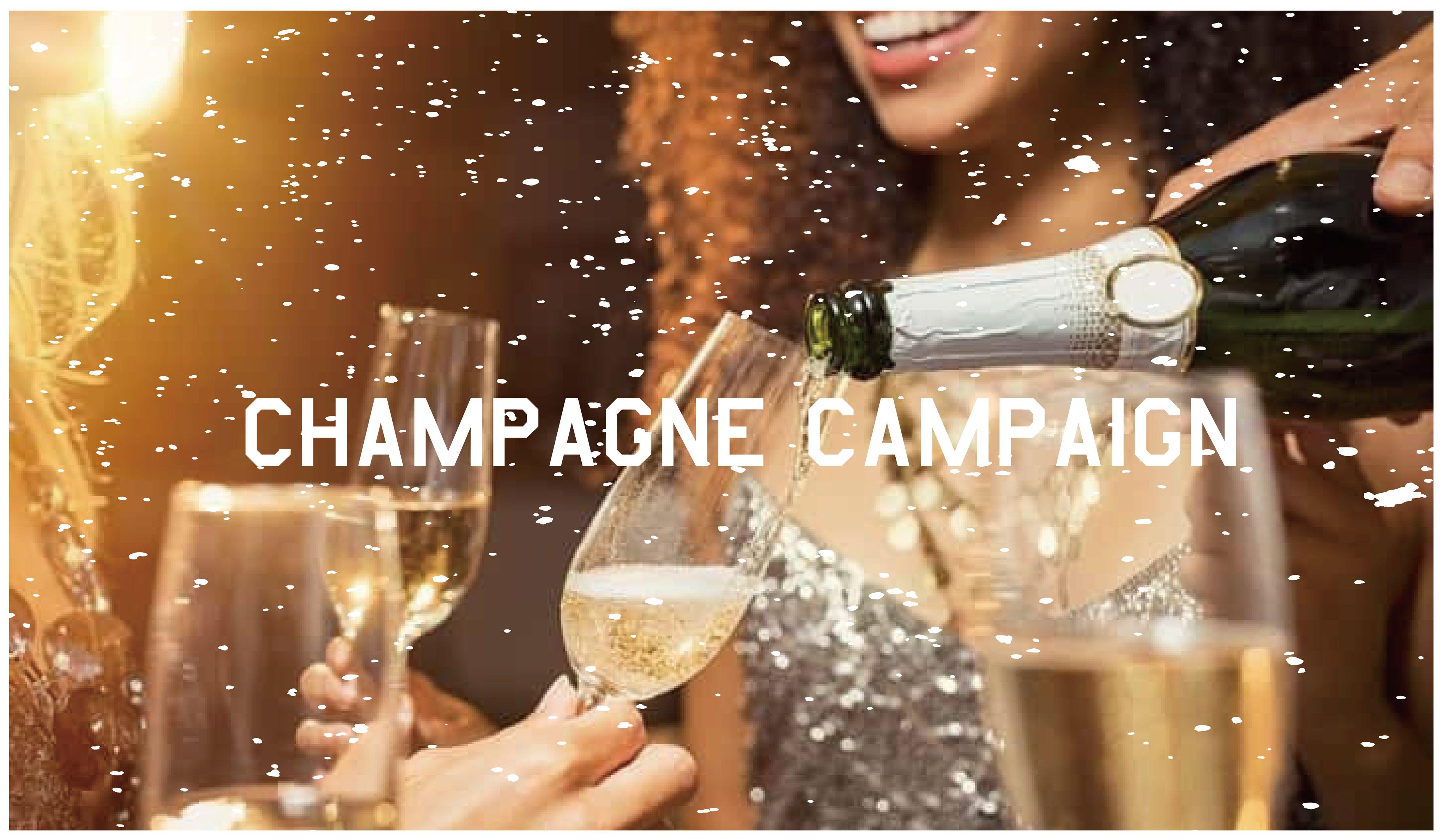【期間限定!】テーブルを彩るシャンパンをお得に楽しもう♪ボトルプレゼントなど7月のキャンペーンをお見逃しなく!