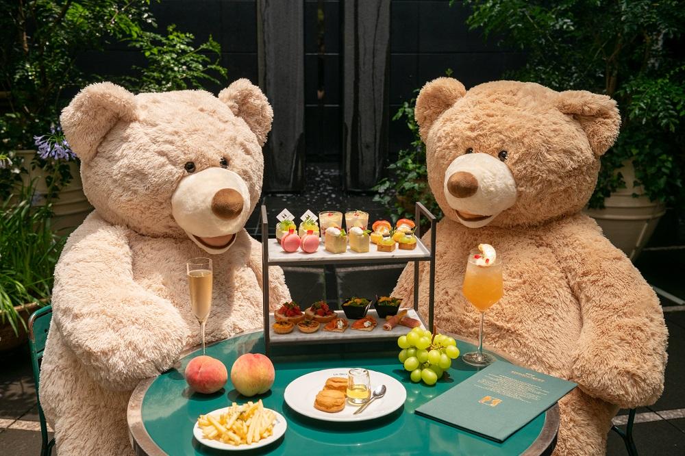 【1日3組限定】渋谷の隠れ家フレンチ「ドゥマゴ」のくまたちと楽しむアフタヌーンプランが夏仕様に!